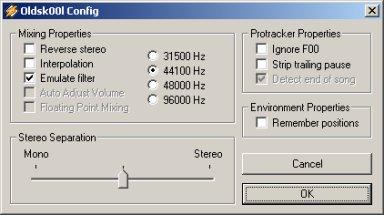 Oldsk00l MOD Player V0.88