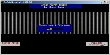 Amiga Floppy Reader V1.0f