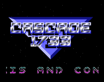 Axis and Constrictor left - Cascade - Amiga Demos