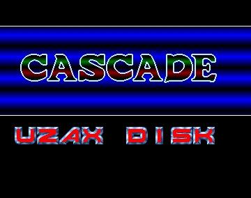 Muzax Disk Intro - Cascade - Amiga Intros