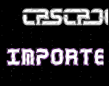 Amiga BTX Import Intro - Cascade - Amiga Intros