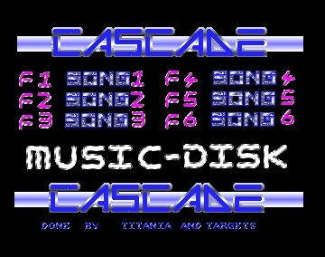 Muzak Collection One (aka Music-Disk) - Cascade - Amiga Demos