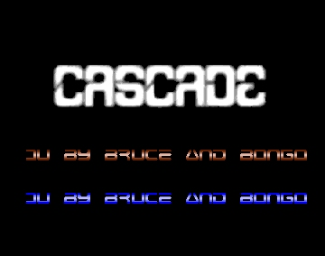 B&B Compact Disk No. 16 Intro - Cascade - Amiga Intros