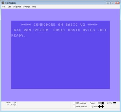 Vice Emulator V3.2