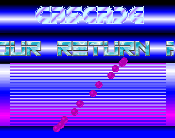 The Return - Cascade - Amiga Intros