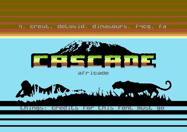 Africade - Cascade - C64 Demos