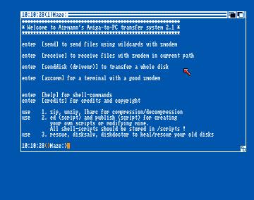 Amiga Transfer Disk v2.1