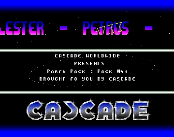 Party Pack #41 Intro - Cascade - Amiga Intros