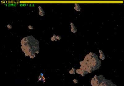 Spaceship vs Asteroids - Commodore News - cascade64.de