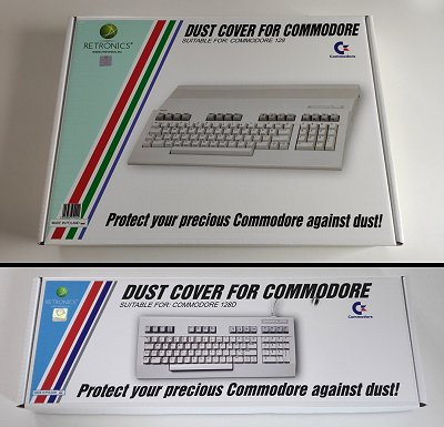 Dust covers for your C128 - Commodore News - cascade64.de
