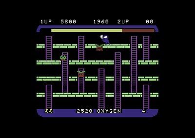 Space Panic (C64)